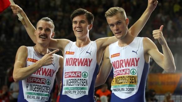 Тримата братя Ингебритцен ще бягат на Европейското в зала догодина