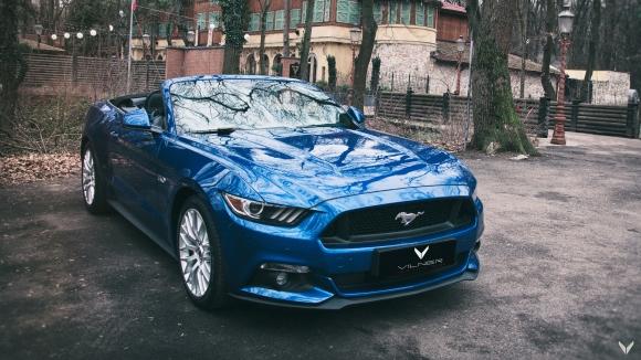 Ford Mustang GT Convertible Combo от Vilner: границата на персонализация е само небето