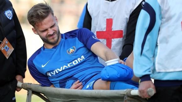 Кошмар за Левски! Холмар Ейолфсон аут до края на сезона