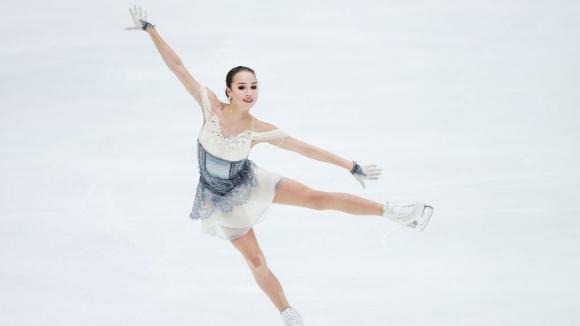 Алина Загитова поведе след кратката програма в Хелзинки
