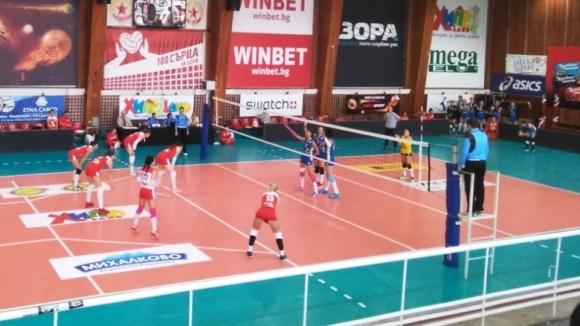 Победа за ЦСКА на старта на женското първенство
