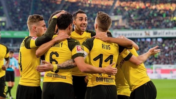 Дортмунд отдъхна и пак се откъсна от Байерн след минимален успех (видео)