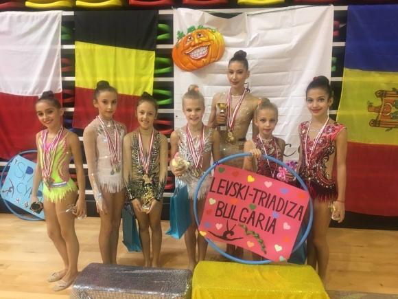 """Силно представяне за гимнастичките на """"Левски-Триадица"""" на турнир в Малта"""
