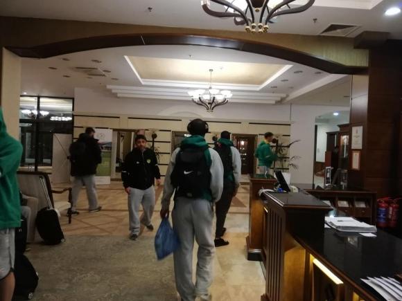 Съперникът на Балкан пристига на две групи в България