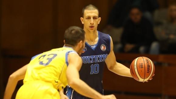 Академик Бултекс постигна първа победа в Балканската лига