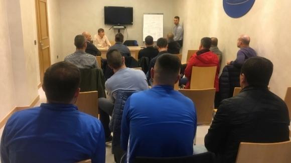 """Родни треньори са в Бергамо, за да се учат от Аталанта - клубът от Серия """"А"""" отваря всички врати за делегацията"""