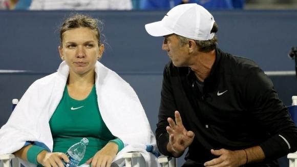 Симона Халеп се раздели с треньора си