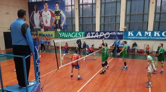 Виктория Волей (Пловдив) с трета победа във Висша лига