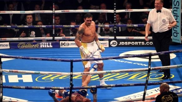 Обзор: Боксова галавечер в Манчестър с гвоздей Усик - Белю