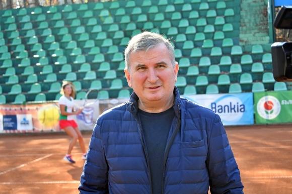 Горан Джокович се срещна с бъдещите тенис звезди на България