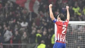 Щом е Атлетико, трябва да е с много пот и драма: голям обрат в Мадрид с гол в 92-ата (видео)