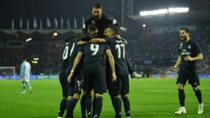 Реал Мадрид на Солари лети, Бензема се въплъти в ролята на голов лидер (видео+галерия)