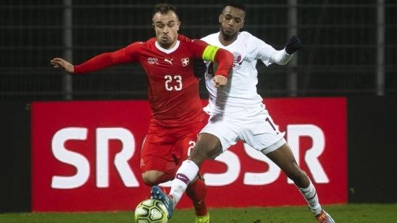Късен гол на Катар шокира 8-ия в света Швейцария