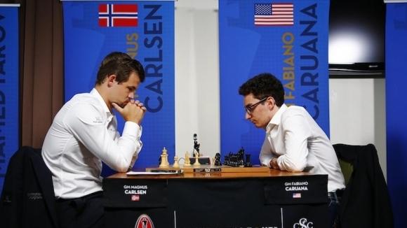 Карлсен и Каруана направиха реми и в петата партия