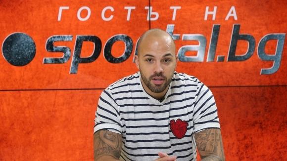 Спас Русев и Николай Михайлов заедно в ложите на