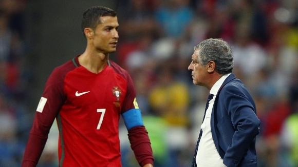 Сантош: Дано Кристиано Роналдо получи признание за огромния си талант