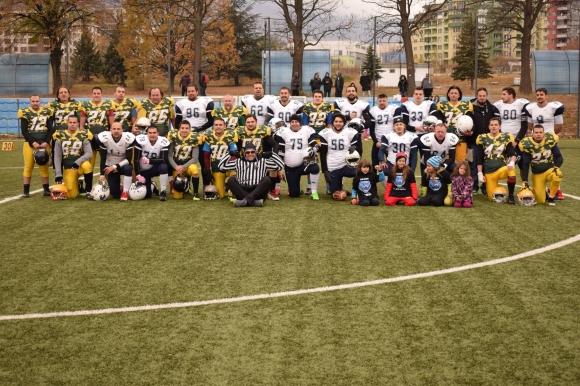 Софийските мечки са шампиони на България във формат 8х8
