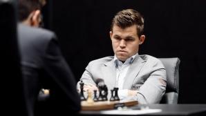 Карлсен и Каруана с реми в четвъртата партия за световната титла