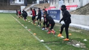ЦСКА-София започна тренировки без шестима национали