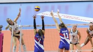 Христина Русева с 6 блокади донесе трети успех на THY