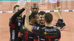 Цецо Соколов и Лубе с победа №7 в Италия (видео + снимки)