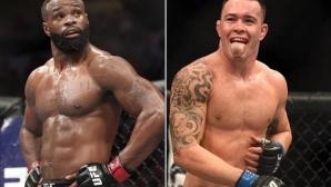 Обсъждат Колби Ковингтън срещу Тайрън Уудли за UFC 233