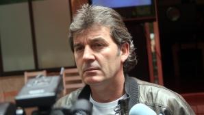 Костадинов иска пълен стадион
