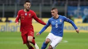 Съставите на Италия и Португалия