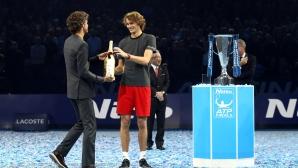 Саша Зверев: Баща ми е най-добрият треньор в тениса