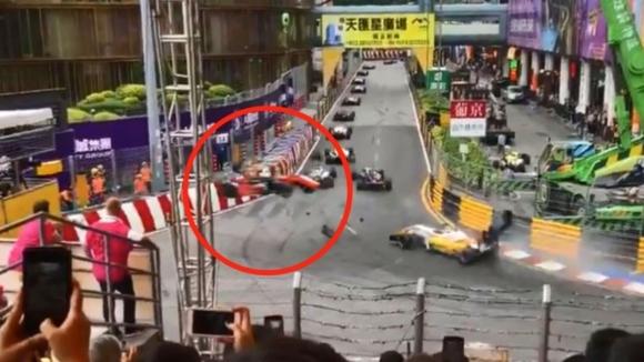 Инцидентът на Фльорш не бил заради спецификациите на пистата