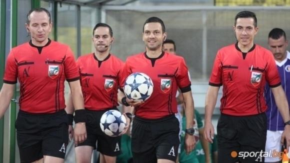 Волен Чинков ще ръководи дербито на 16-ия кръг между Локомотив (Пловдив) и Лудогорец