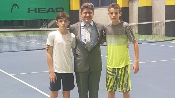 Консулът на България в Истанбул подкрепи родните тенисисти