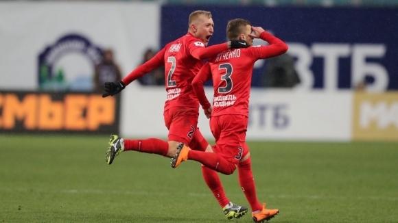 Занев и Енисей излъгаха Динамо в Москва (видео)