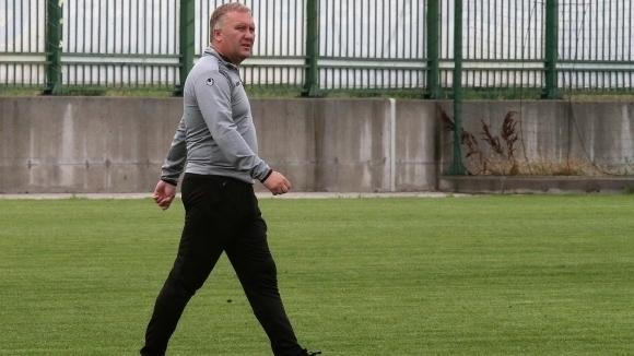 Николай Киров разчита на пълния си състав срещу Етър