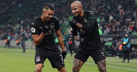 Краснодар не показа милост срещу Арсенал (видео)