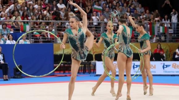 Ансамбълът на България, Катрин Тасева и Невяна Владинова участваха на гимнастическо шоу в Испания