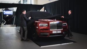 Rolls-Royce Cullinan направи официалния си дебют в България