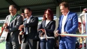 Кирил Домусчиев и футболистите на Лудогорец се включиха в благородна кауза (видео)