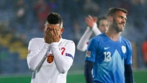 11-те на България и Словения, Хубчев с три промени в атака