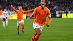 Холандия ликува след нелогичен развой срещу Германия (видео)
