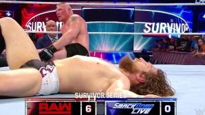 Брок Леснар спечели битката на шампионите (видео + снимки)