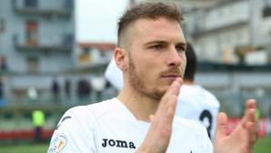 Италиански футболист сътвори феноменален гол! (видео)