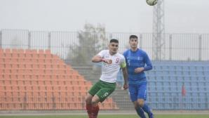 Решаващ мач: България U19 – Гърция U19 0:1