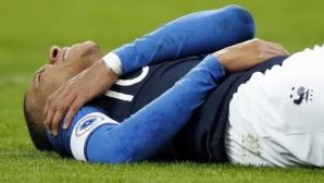 Франция повали Уругвай, но всички погледи бяха насочени към Мбапе (видео)