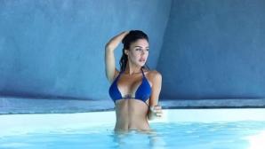 Бразилски модел е музата на италиански нападател (снимки)