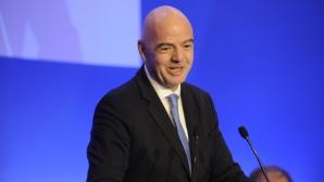 Русия ще подкрепи Инфантино за нов мандат начело на ФИФА