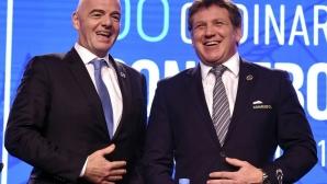 Босът на КОНМЕБОЛ потвърди споразумението между Ривър и Бока