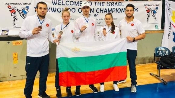 Българските таекуодисти превзеха Израел