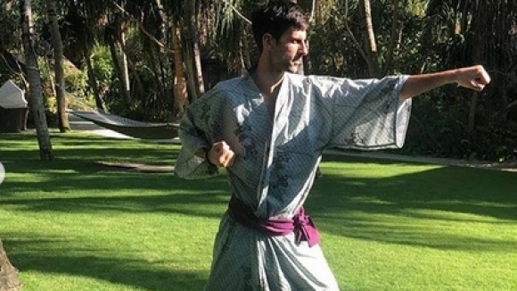 Джокович стана самурай