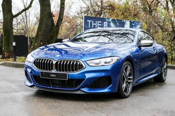 BMW даде старт на доставките на новата Серия 8